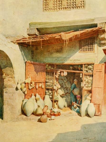 An Artist in Egypt - Pottery Bazaar in a Nile Village (1912)