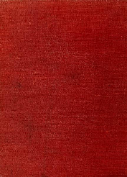 An Artist in Egypt - Back Cover (1912)