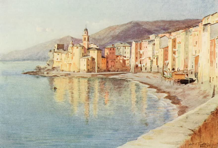 An Artist in the Riviera - Camocli (1915)