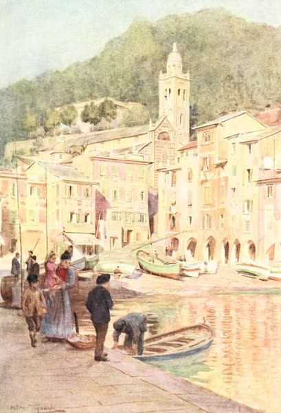An Artist in the Riviera - Portofino (1915)