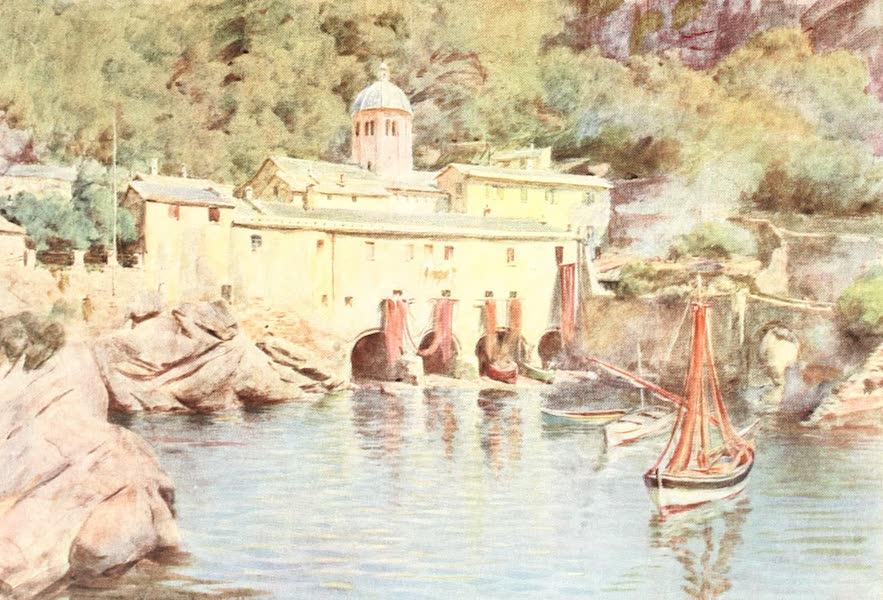 An Artist in the Riviera - S. Fruttuoso, Portofino (1915)