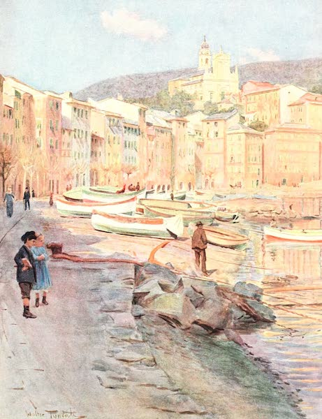 An Artist in the Riviera - S. Margherita Ligure (1915)