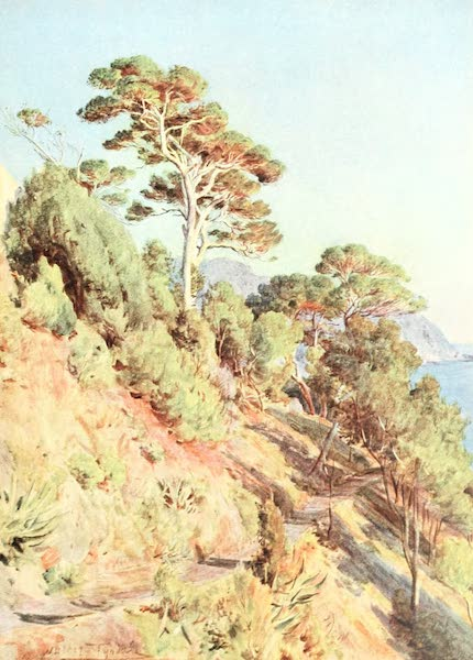 An Artist in the Riviera - In the Villa Piuma, Sestri Levante (1915)