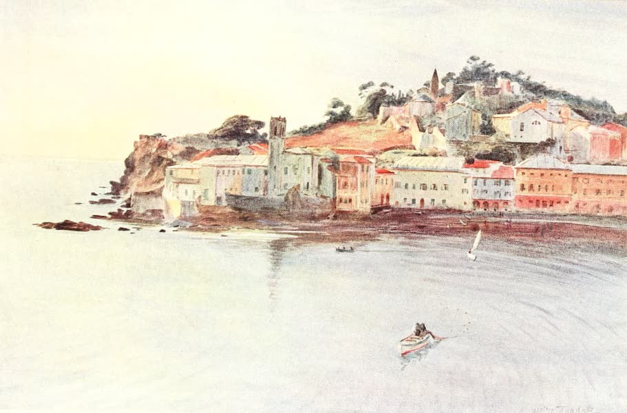 An Artist in the Riviera - La Penisola, Sestri Levante (1915)