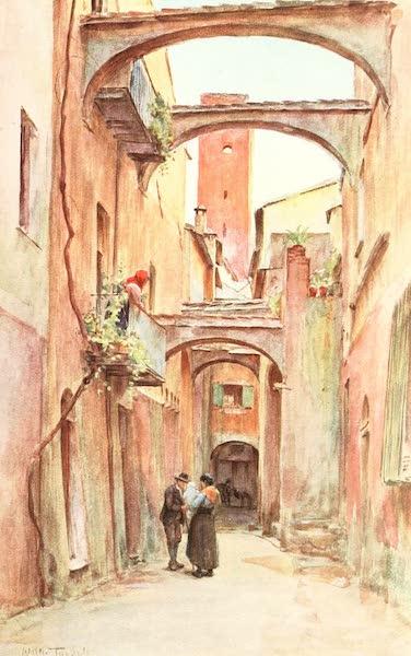 An Artist in the Riviera - Via deglo Speddale, Noli (1915)