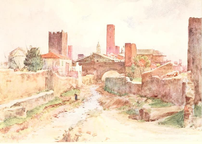 An Artist in the Riviera - Noli (1915)