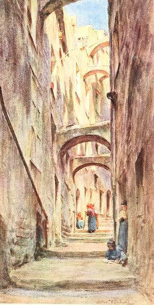 An Artist in the Riviera - Vicolo della Providenza, San Remo (1915)
