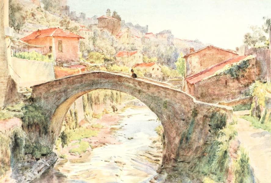 An Artist in the Riviera - La Rocca, San Remo (1915)