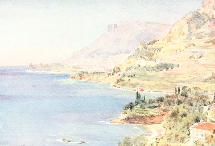 An Artist in the Riviera - The Principality of Monaco (1915)