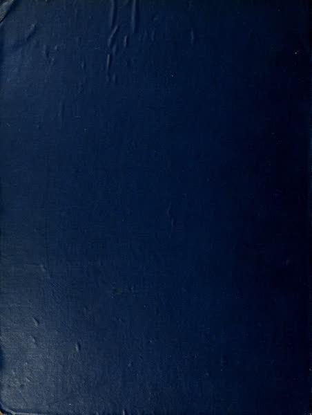 An Artist in the Riviera - Back Cover (1915)