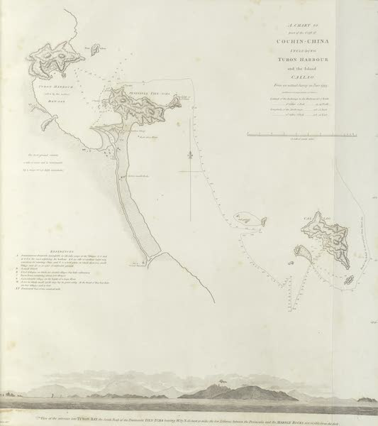 An Authentic Account of an Embassy from the King of Great Britain to the Emperor of China [Vol. 3: Plates] - A chart of part of the coast of Cochin-china (1797)