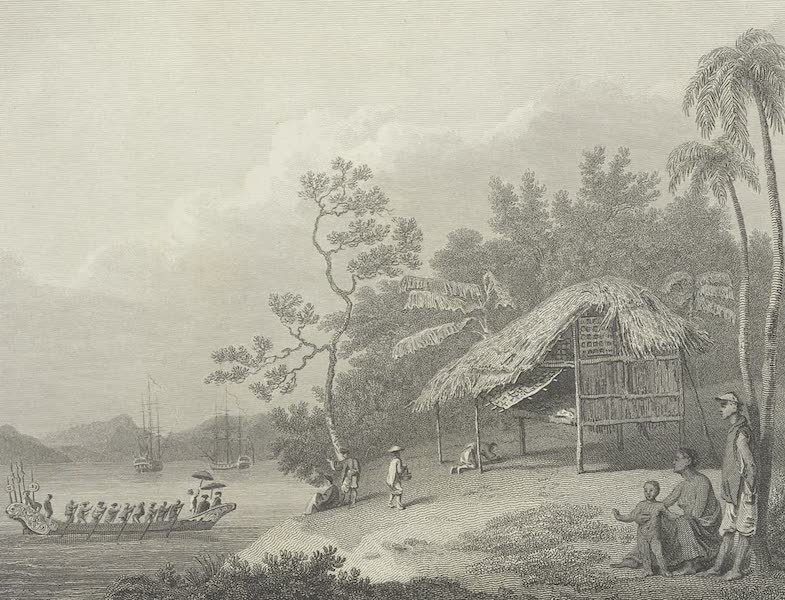 An Authentic Account of an Embassy from the King of Great Britain to the Emperor of China [Vol. 3: Plates] - View in Turon bay (1797)