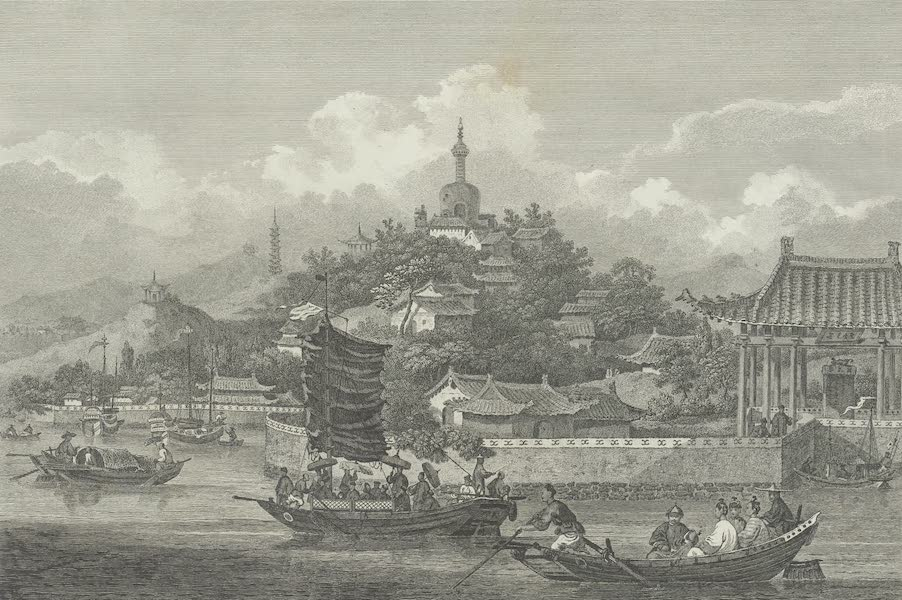 An Authentic Account of an Embassy from the King of Great Britain to the Emperor of China [Vol. 3: Plates] - A view in the gardens of the imperial palace of Pekin (1797)
