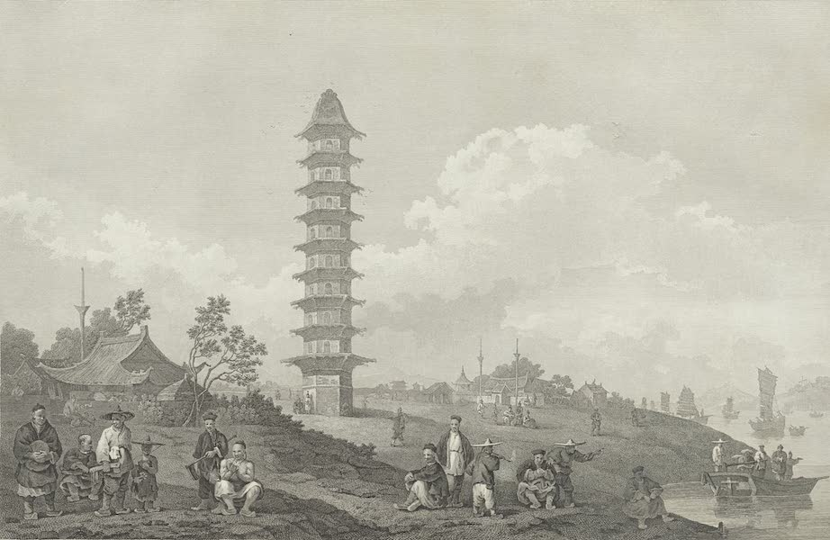 An Authentic Account of an Embassy from the King of Great Britain to the Emperor of China [Vol. 3: Plates] - A view near the city of Lin-tsin (1797)