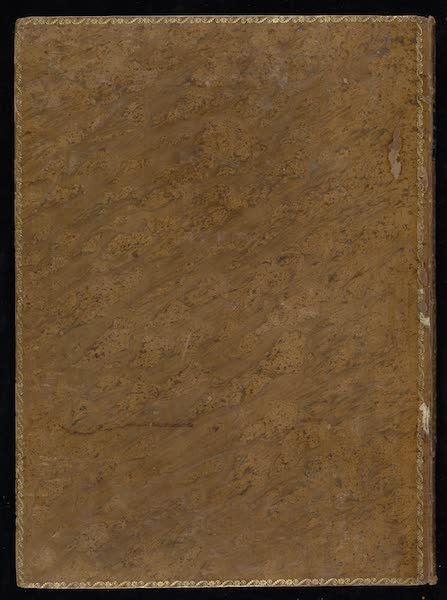 An Authentic Account of an Embassy from the King of Great Britain to the Emperor of China [Vol. 3: Plates] - Back Cover (1797)