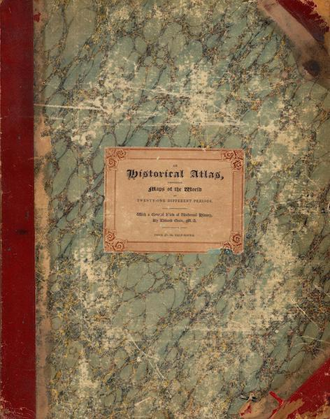 An Historical Atlas - Front Cover (1830)