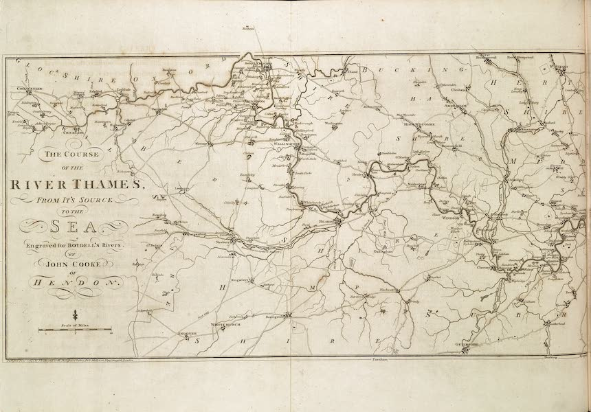 An History of the Principal Rivers of Great Britain Vol. 1 - The Course of the River Thames (1794)