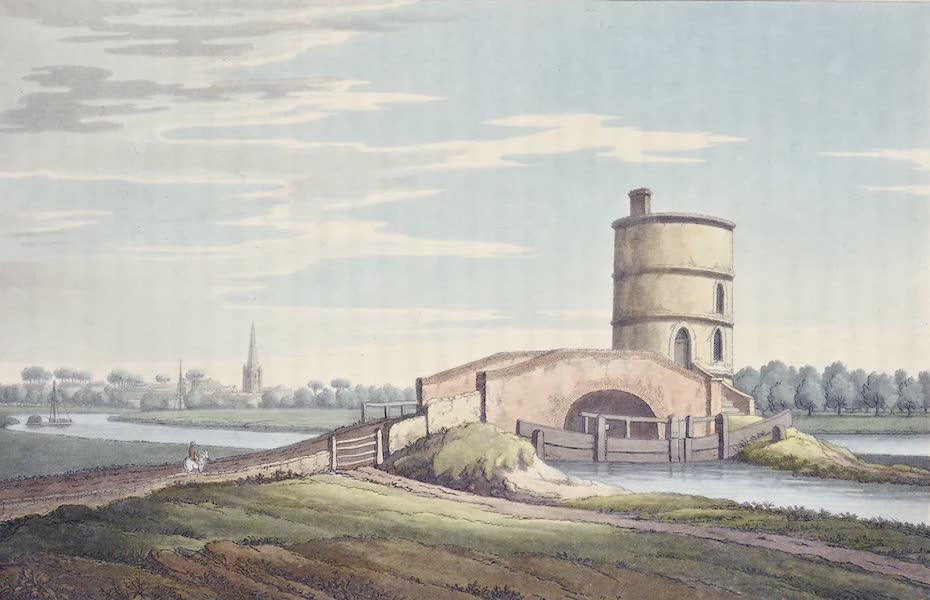 An History of the Principal Rivers of Great Britain Vol. 1 - Junction of the Thames and Canal near Lichlade (1794)