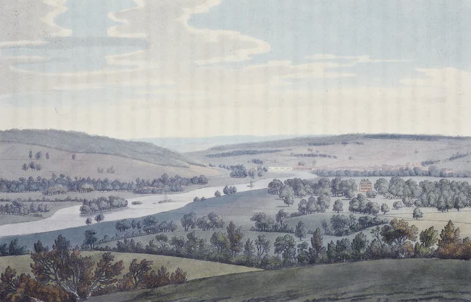 An History of the Principal Rivers of Great Britain Vol. 1 - Fawley Court, and Henley (1794)