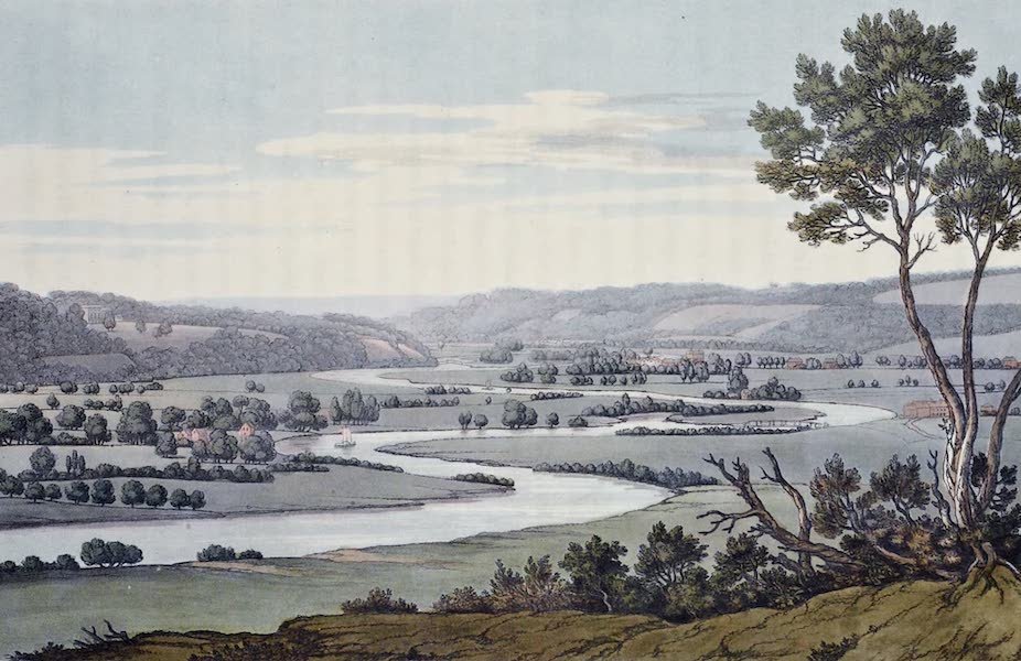 An History of the Principal Rivers of Great Britain Vol. 1 - The windings of the Thames below Culham (1794)