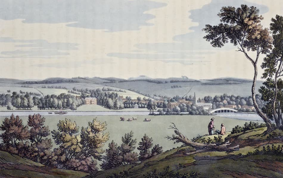 An History of the Principal Rivers of Great Britain Vol. 1 - Court Garden, and Great Marlow (1794)