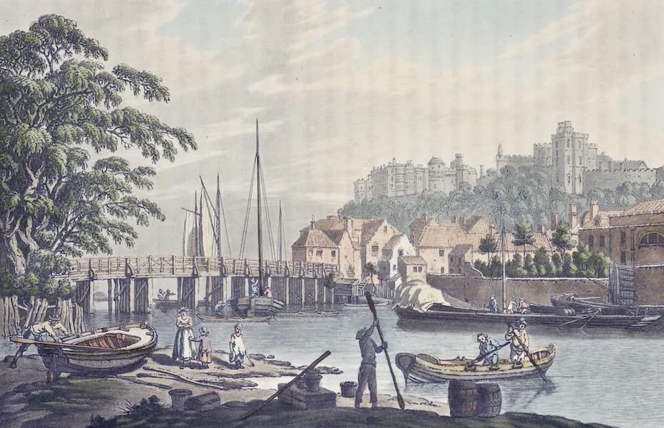 An History of the Principal Rivers of Great Britain Vol. 1 - Windsor Bridge (1794)