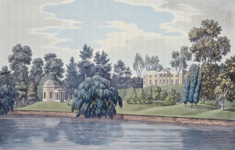 An History of the Principal Rivers of Great Britain Vol. 1 - The late Mr. Garrick's Villa (1794)