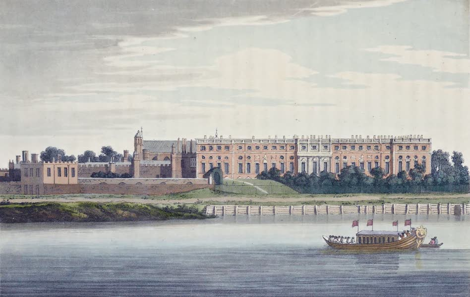 An History of the Principal Rivers of Great Britain Vol. 1 - Hampton Court (1794)