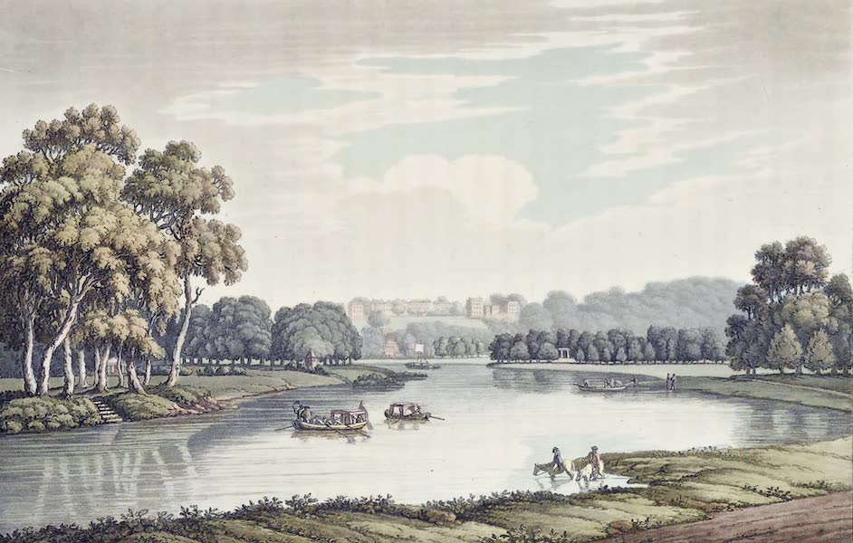 An History of the Principal Rivers of Great Britain Vol. 2 - View of Richmond from Tickenham (1794)
