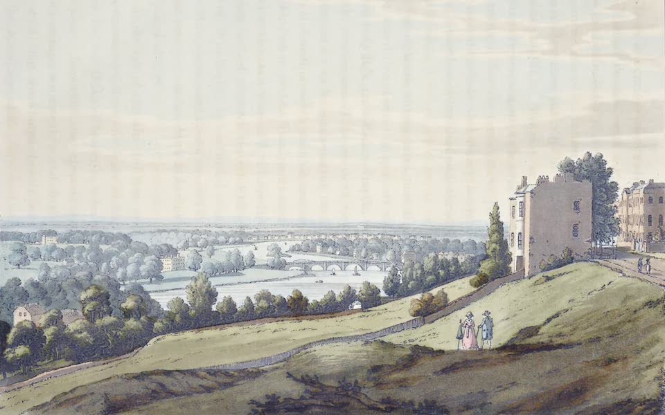 An History of the Principal Rivers of Great Britain Vol. 2 - View from Richmond Hill, down the River (1794)
