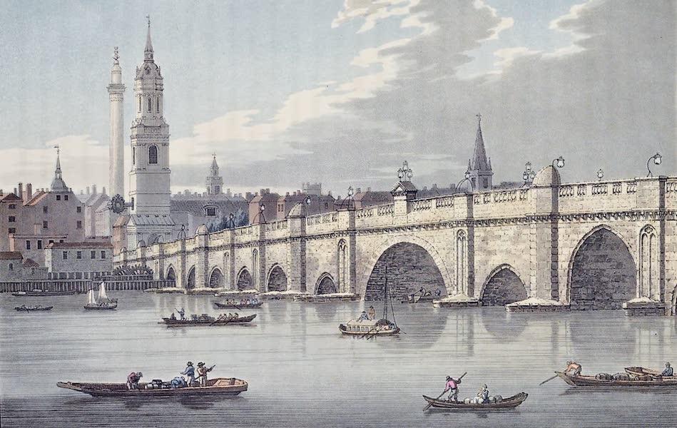 An History of the Principal Rivers of Great Britain Vol. 2 - London Bridge (1794)