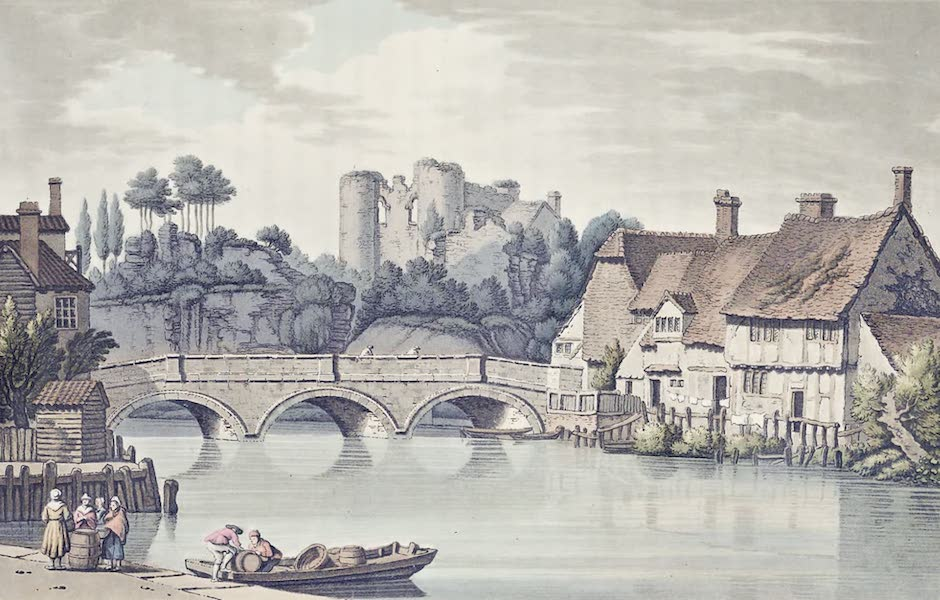 An History of the Principal Rivers of Great Britain Vol. 2 - Tunbridge Castle (1794)