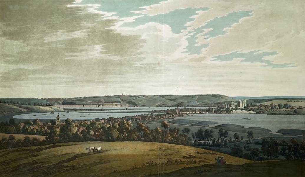 An History of the Principal Rivers of Great Britain Vol. 2 - Rochester and Chatham (1794)