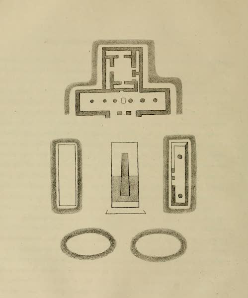 An Inquiry into the Origin of the Antiquities of America - Plate IX (1839)