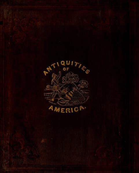An Inquiry into the Origin of the Antiquities of America - Back Cover (1839)
