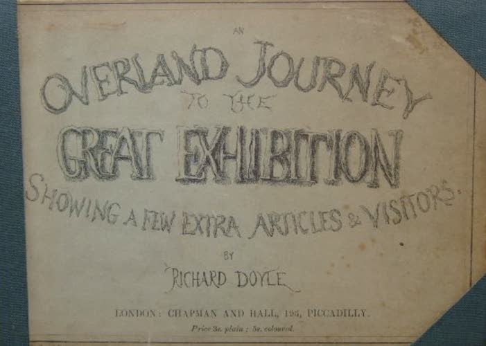 Aquatint & Lithography - An Overland Journey to the Great Exhibition