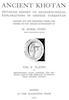 Ancient Khotan Vol. 2