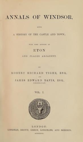 English - Annals of Windsor Vol. 1