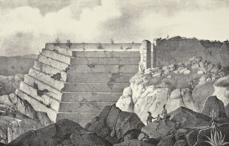 Antiquites Mexicaines - 3ème Expedition - Planche I (1844)