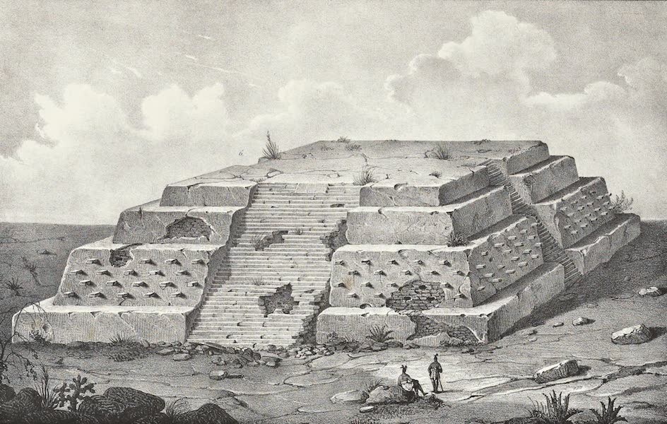 Antiquites Mexicaines - 3ème Expedition - Planche III (1844)