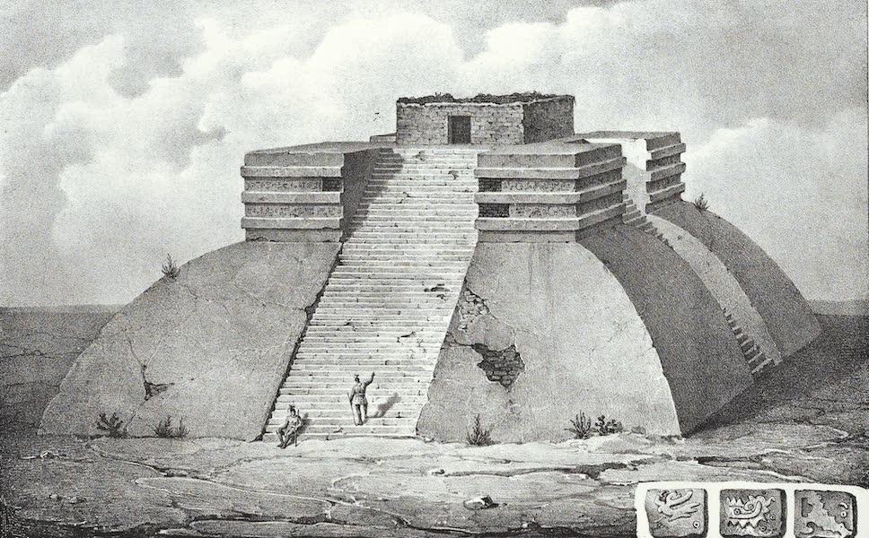 Antiquites Mexicaines - 3ème Expedition - Planche IV (1844)