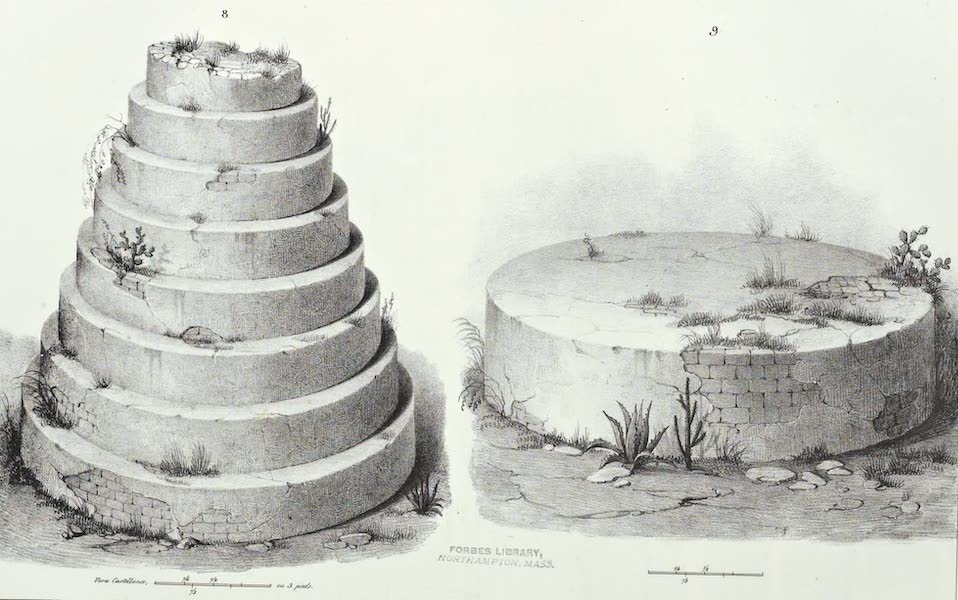 Antiquites Mexicaines - 3ème Expedition - Planche V (1844)