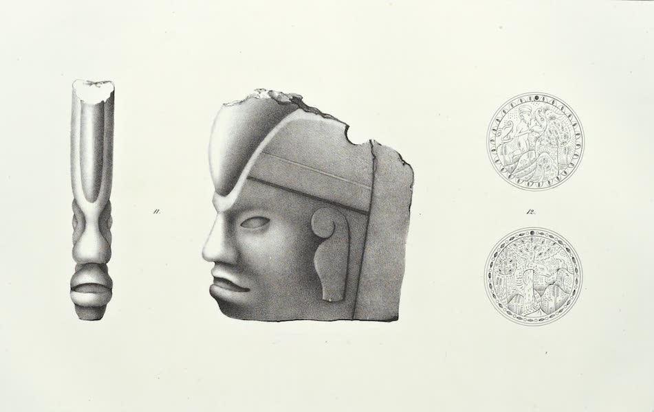 Antiquites Mexicaines - 3ème Expedition - Planche VII (1844)