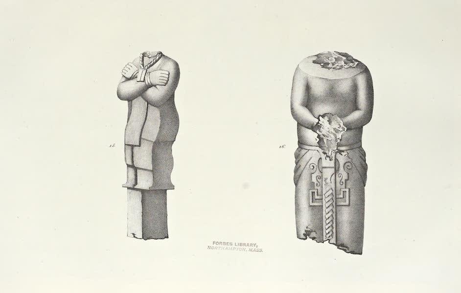 Antiquites Mexicaines - 3ème Expedition - Planche IX (1844)
