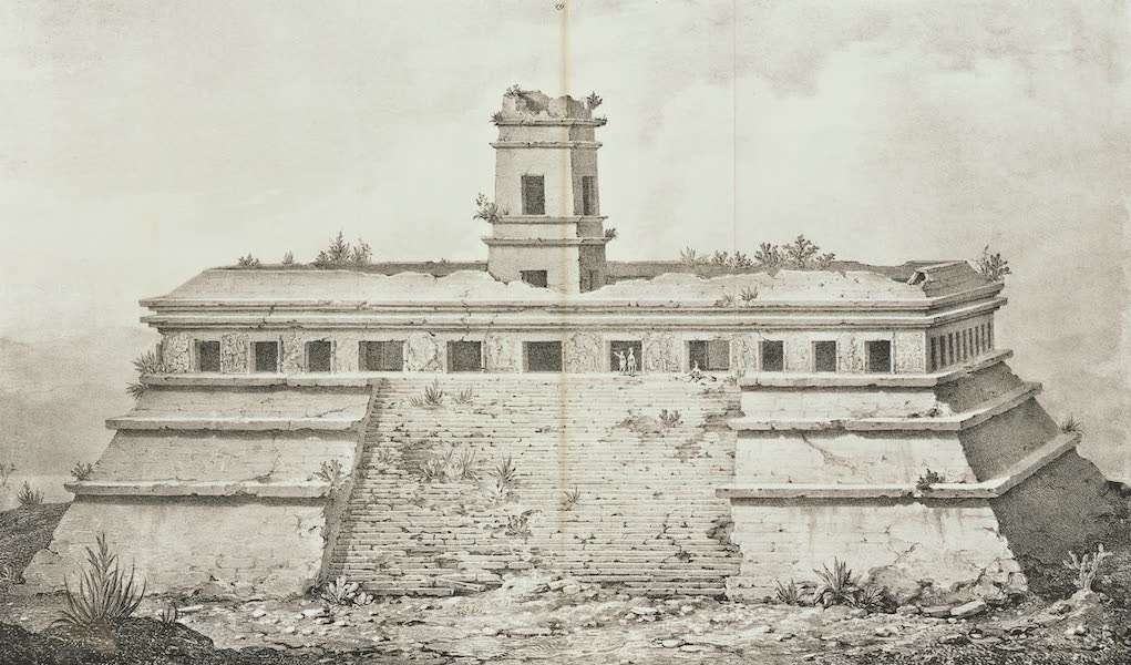 Antiquites Mexicaines - 3ème Expedition - Planche XII (1844)