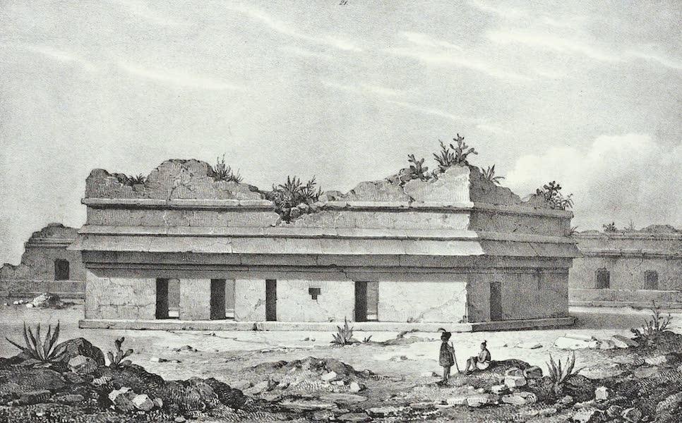 Antiquites Mexicaines - 3ème Expedition - Planche XIV (1844)