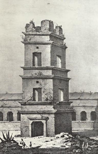 Antiquites Mexicaines - 3ème Expedition - Planche XV (1844)
