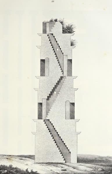 Antiquites Mexicaines - 3ème Expedition - Planche XVI (1844)