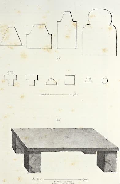 Antiquites Mexicaines - 3ème Expedition - Planche XVIII (1844)