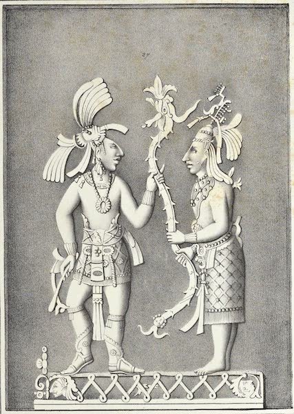 Antiquites Mexicaines - 3ème Expedition - Planche XIX (1844)